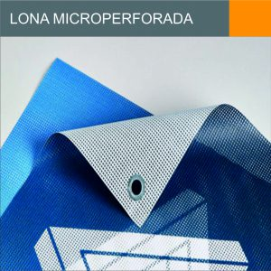 Lona Microperforada Ficha